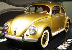 Volkswagens 1,000,000th car was custom made with gem stones implanted on the bumers and other areas